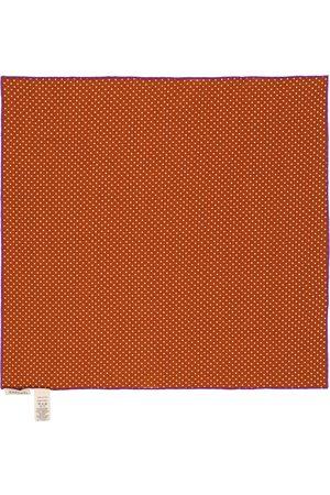 Caramel Schal Treasure aus Baumwolle