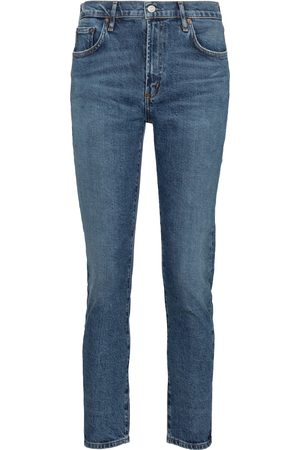 AGOLDE Mid-Rise Straight Jeans Toni