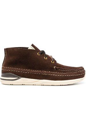 VISVIM Sneakers - Voyageur Moc Folk leather sneakers