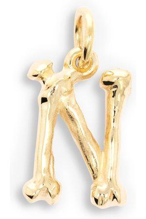 The Great Frog 18kt Alphabones 'N' pendant