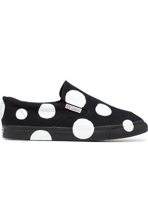 10 CORSO COMO X Superga gepunktete Slip-On-Sneakers