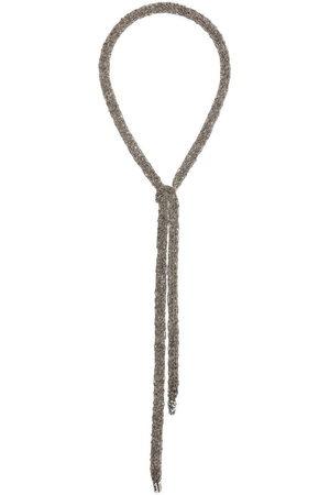EMANUELE BICOCCHI Halsketten - Crocheted tie necklace