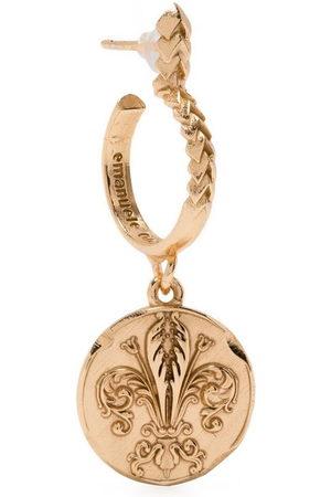 EMANUELE BICOCCHI Coin-pendant earring