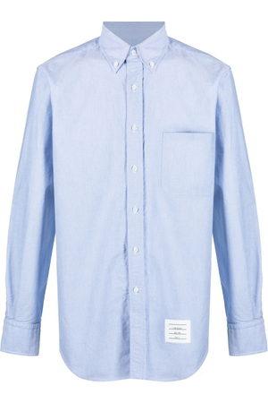 Thom Browne Oxford-Hemd mit Brusttasche