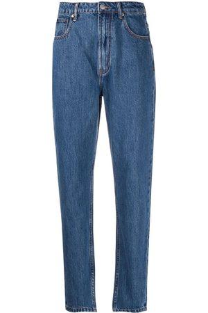 12 STOREEZ Damen Tapered - Jeans mit hohem Bund