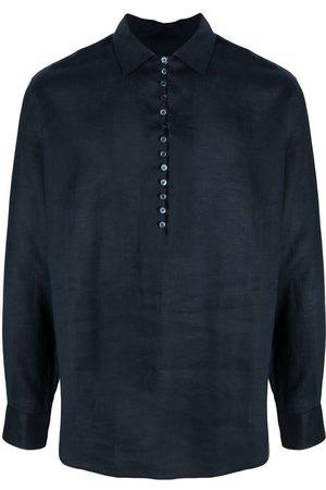 Dolce & Gabbana Herren Hemden - Hemd mit seitlichen Schlitzen