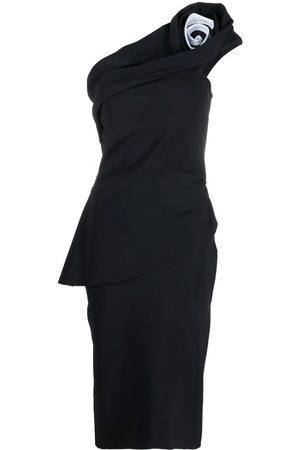 CHIARA BONI Kleid mit asymmetrischem Schnitt