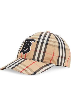 Burberry Baseballkappe mit Monogramm-Stickerei