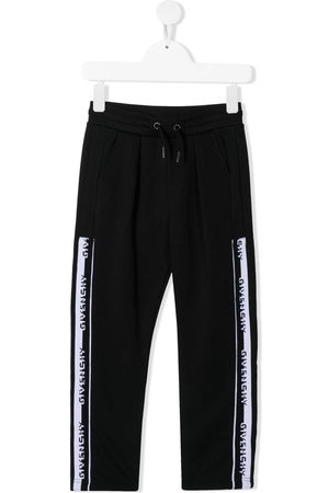 Givenchy Logo-tape track pants