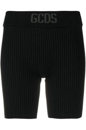 GCDS Damen Kurze Hosen - Gestrickte Shorts