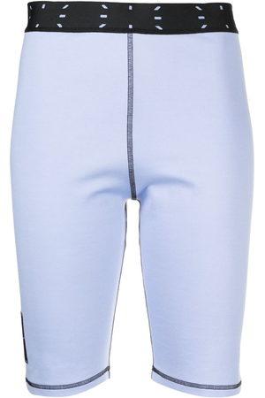 McQ Damen Kurze Hosen - Shorts mit Stickerei