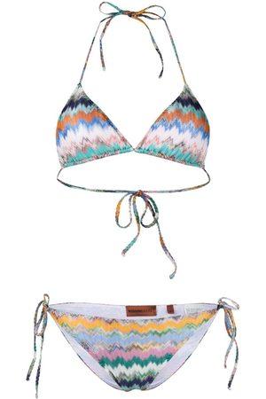 Missoni Gestreifter Bikini