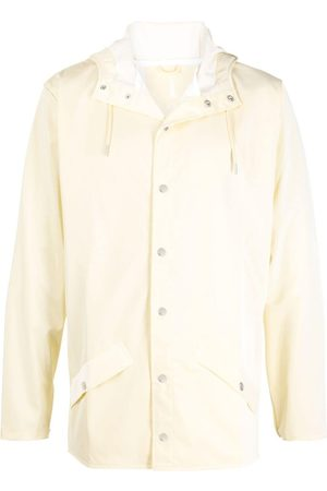 Rains Hooded long-sleeved rain jacket - Nude