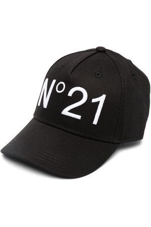 Nº21 Baseballkappe mit Logo-Print