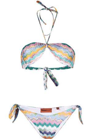 Missoni Klassischer Neckholder-Bikini