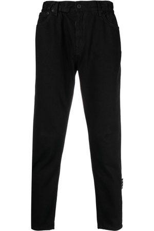 OFF-WHITE Gerade Jeans mit hohem Bund