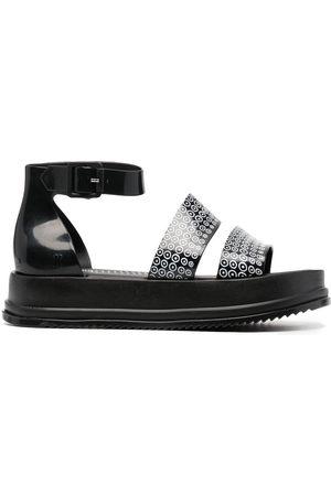 10 CORSO COMO Damen Sandalen - Sandalen mit Print