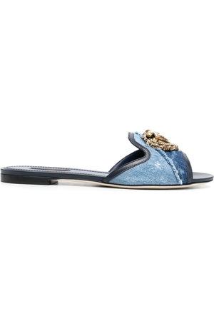 Dolce & Gabbana Slip-on flat sandals