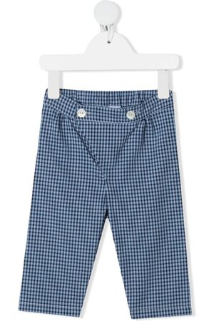 SIOLA Chinos - Gingham-check print trousers
