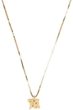 MISBHV Halsketten - Letter charm necklace
