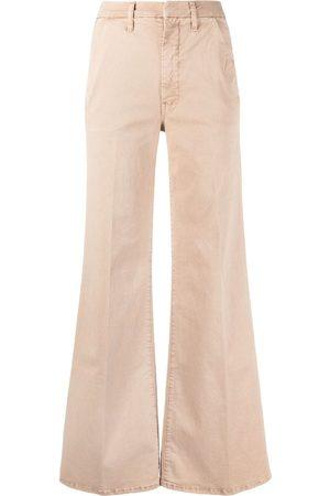 Mother Damen High Waisted - High-waist flared jeans - Nude