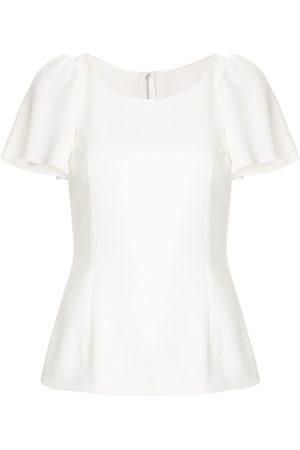 Dolce & Gabbana Damen Shirts - Top mit Volants