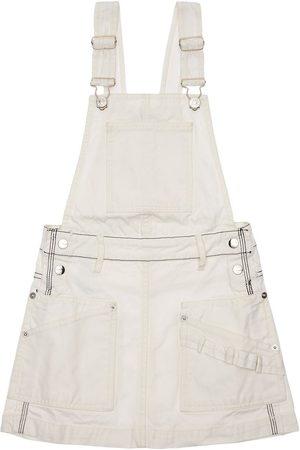 Diesel Mädchen Jumpsuits - Overallkleid Aus Baumwollcanvas