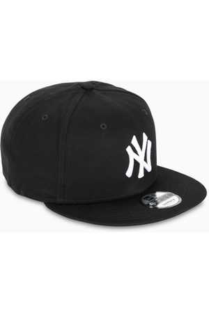 New Era Black/white NY five panel cap