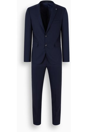 TAGLIATORE Blue single-breasted suit