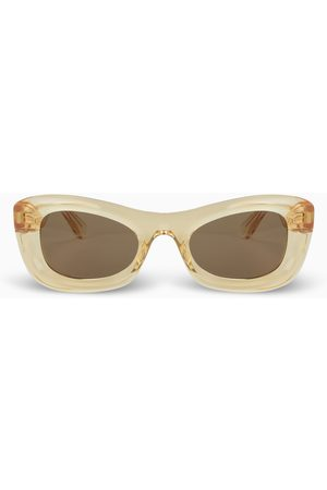 Bottega Veneta Yellow cat-eye sunglasses