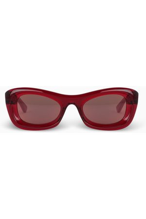 Bottega Veneta Red cat-eye sunglasses