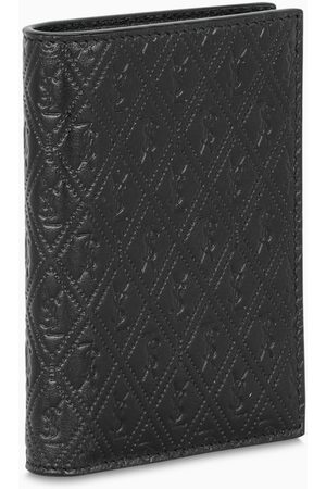 Saint Laurent Black monogram pattern wallet