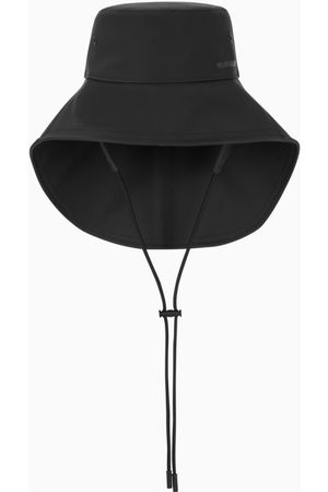 Burberry Damen Hüte - Black wide-brimmed bucket hat