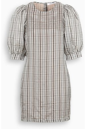 Samsøe Samsøe Checked Celestine short dress