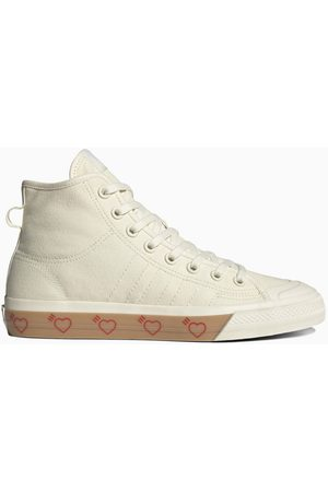 adidas White Human Made Nizza high-top sneakers