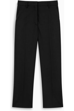 Prada Black slim trousers