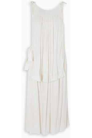 Prada Ivory toile dress