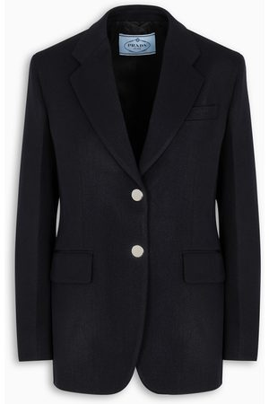Prada Jacket in blue gabardine