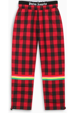 Palm Angels Buffalo checked joggers
