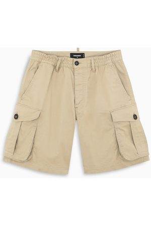 Dsquared2 Camel cargo short trousers