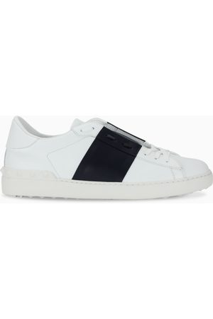 VALENTINO GARAVANI Men's blue and white Open sneakers