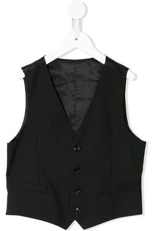 Dolce & Gabbana Jungen Westen - Weste mit V-Ausschnitt