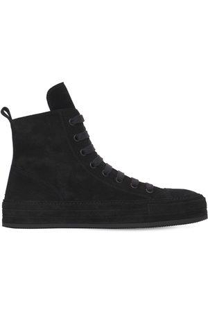 ANN DEMEULEMEESTER Herren Sneakers - Hohe Sneakers Aus Wildleder