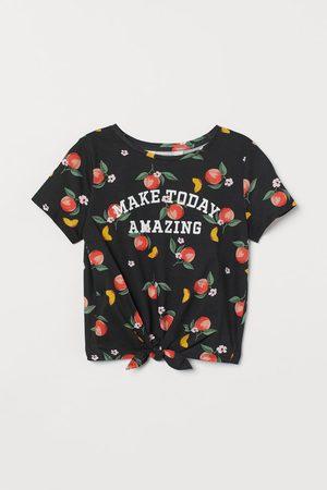 H&M Shirt zum Binden
