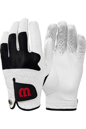 Wilson Herren Handschuhe - Advantage 2 PK Leather Fingerhandschuhe Herren