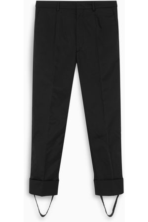 Prada Black tailored trousers