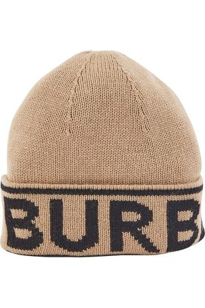 Burberry Mütze mit Logo