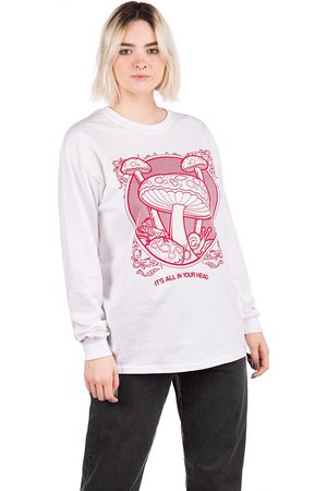 Dravus Damen Longsleeves - In your Head Longsleeve T-Shirt