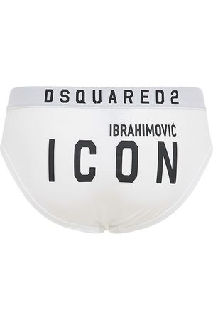 "Dsquared2 Slip Ausstretch-baumwolle ""ibrahimovic Icon"""