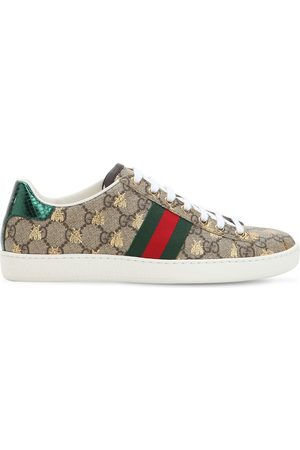 """Gucci 20mm Hohe Canvassneakers """"new Ace Gg Supreme"""""""